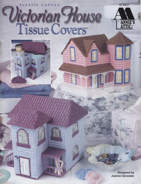 Annies Attic 870831, Victorian House Tissue Covers, Plastic Canvas ...