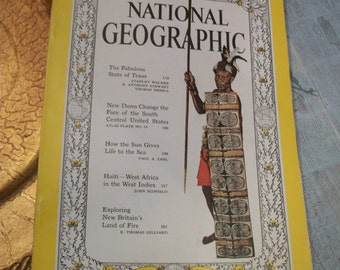 National Geographic Magazine February 1961 Vol. 119. No. 2