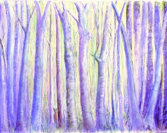 """11x17"""" Giclee reproduction of pastel painting on paper"""