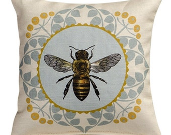 French Bee Sachet Filled with Lavender or Balsam
