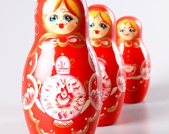 5 Piece Tea Party Nesting Doll