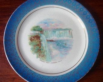 Souvenir Plate Prospect Point Niagara Falls Cronin Vintage