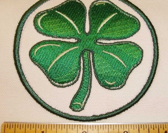 Iron-on Patch - FOUR LEAF CLOVER
