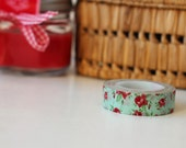 colorful roses washi tape, perfect for your projects
