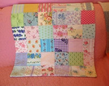 Unique Patchwork Quilt Baby Related Items Etsy