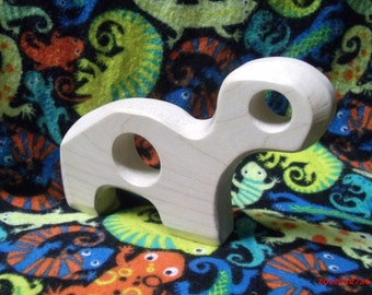 Maple wood teether (Turtle)