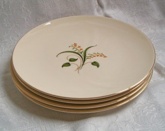 Knowles Forsythia Dinner Plates - Set of 4