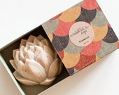 Chai & Vanilla Lotus Soap - Natural, Handmade, Cold Processed, Vegan