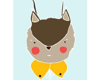 Deer Print. Forrest Friends Print