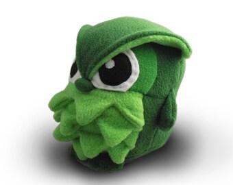 Shamrock Owl Plush - Made-to-Order