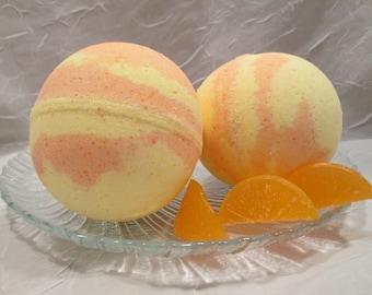 Mango Tangerine Bath Bomb Fizzy