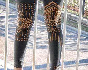Aztec Tribal Leggings