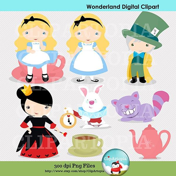 alice in wonderland clip art download - photo #42