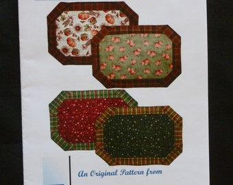 Quick and Easy Placemats Pattern by EB Designs