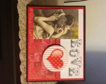 Vintage Love Valentine Day Card