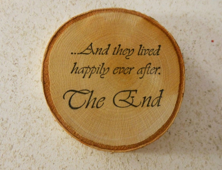 Rustic Wedding Favors Birch Wood And Custom By
