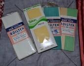Boiltex Bias Tape-rayon seam binding-hemfacing and Talon Blanket binidng