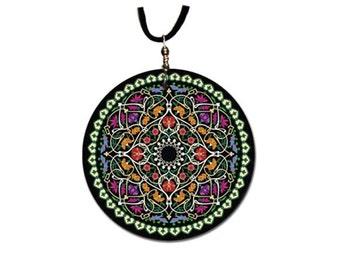 Folk - pendant handmade