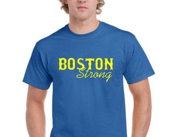 Boston strong t shirt boston tribute tshirt boston for Boston strong marathon t shirts
