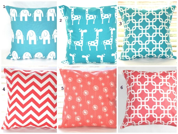 Decorative Pillows For Baby Room : Pillow Cover, Pillow, Baby, Nursery, Beach Decor, Decorative Throw Pillows, Throw Pillows, Coral ...
