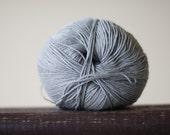 Cotton linen viscose yarn - grey - 50gr