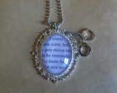Fifty Shades of Grey Pendant