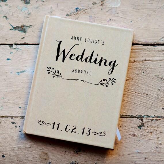 Wedding Journal, Notebook, Wedding Planner