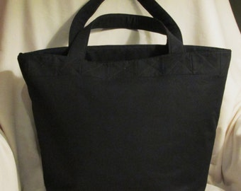 Custom Cotton Tote with Quilted Top
