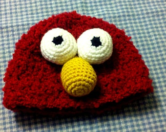 ELMO Muppet Beanie