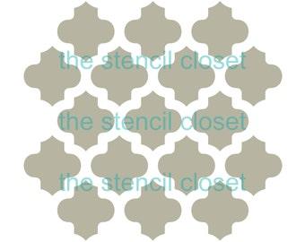 12 x12 Moroccan stencil