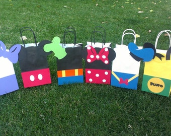 Mickey Mouse Clubhouse Party Bags- 8 bags