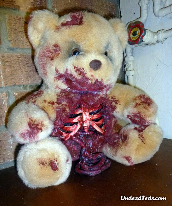 UnDead Ted with spilling guts.