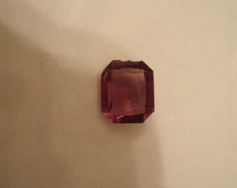 Vintage/ Antique Natural Faceted Amethyst Gemstone