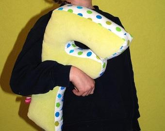 "Pillow - letter ""F"""