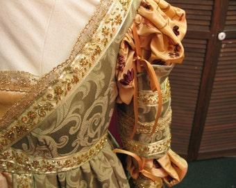 "Renaissance Dress, ""Ever After,"" Renaissance Medieval Madrigal - Made to Order"