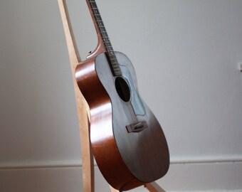 Sculptural Maple Guitar Stand