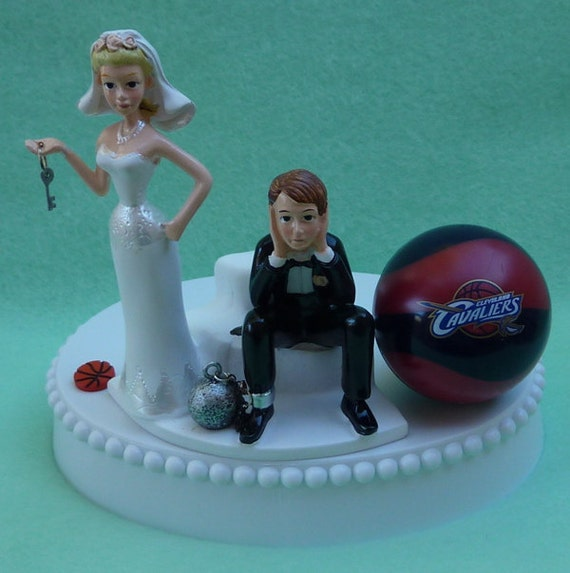 Cavaliers Cake Topper