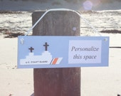 Coast Guard Cutter Personalized Sign
