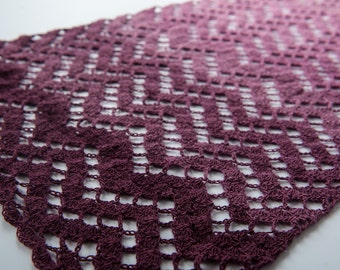 Zigzag-Lace - crochet pattern (English/French/Dutch)
