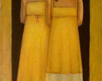 The Girls- Print of Original Painting