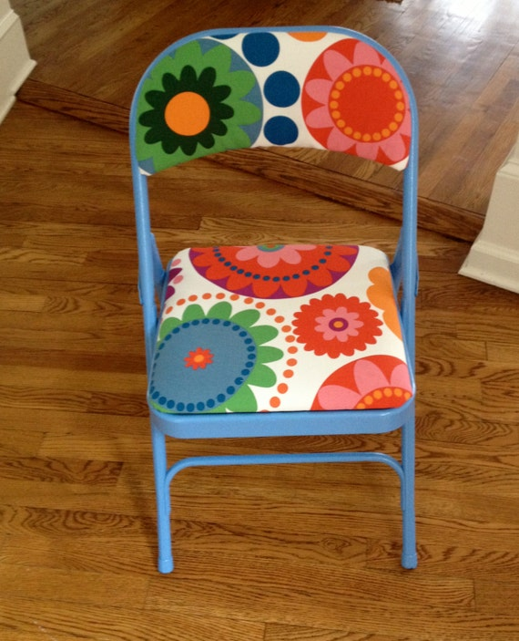 Missoni Fabric Covered Bergere Chair: Items Similar To Fabric Covered Metal Folding Chair