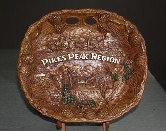 Souvenir Pikes Peak Platter