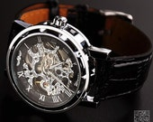 Mens Watch Steampunk (WAT0081) - VintageLovers2012