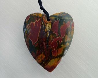 Cherry Creek Heart Shape Pendant  (ETP00048)