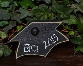 Graduation Party Decoration Personalized Graduation Gift Personalized Graduation Cap Centerpiece