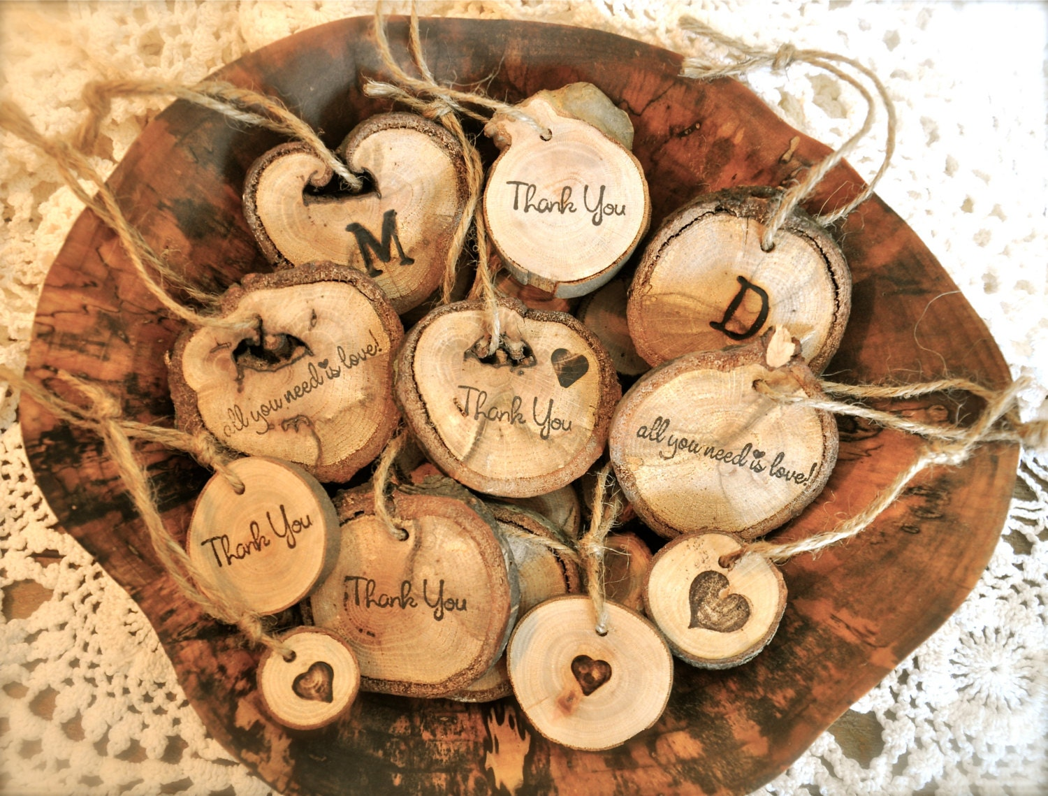 how to make wooden xmas ornaments
