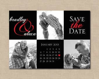 Save the Date Boxes: Photo, Digital File