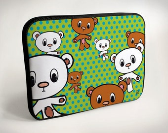 Bear - Laptop Case - Laptop Bag - Laptop Sleeve