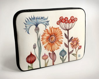 Meadow flowers - Laptop Case - Laptop Bag - Laptop Sleeve