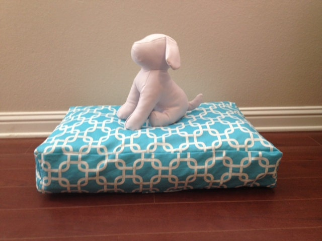 Popular items for turquoise dog bed on Etsy